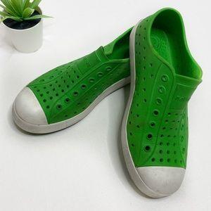 Native Jefferson Shoes Green White
